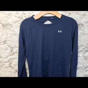Under Armour Women's Size Sm Med Lg Open Back Navy